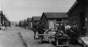 Sherwood Forest- Clipstone Army Camp huts