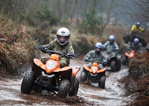 Woodland Quad trek at Adrenalin Jungle