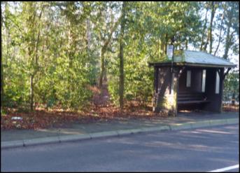 B6034 bus shelter